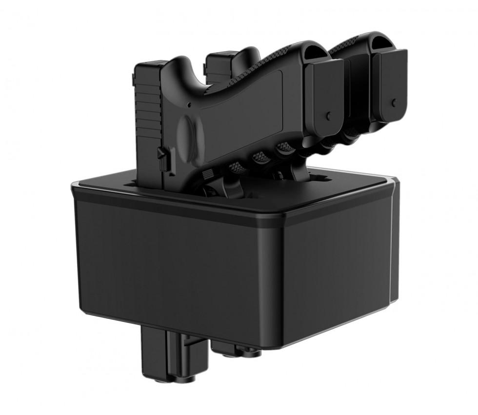 RS Series - Twin Pistol/AR Magazine Rack B (for front door)