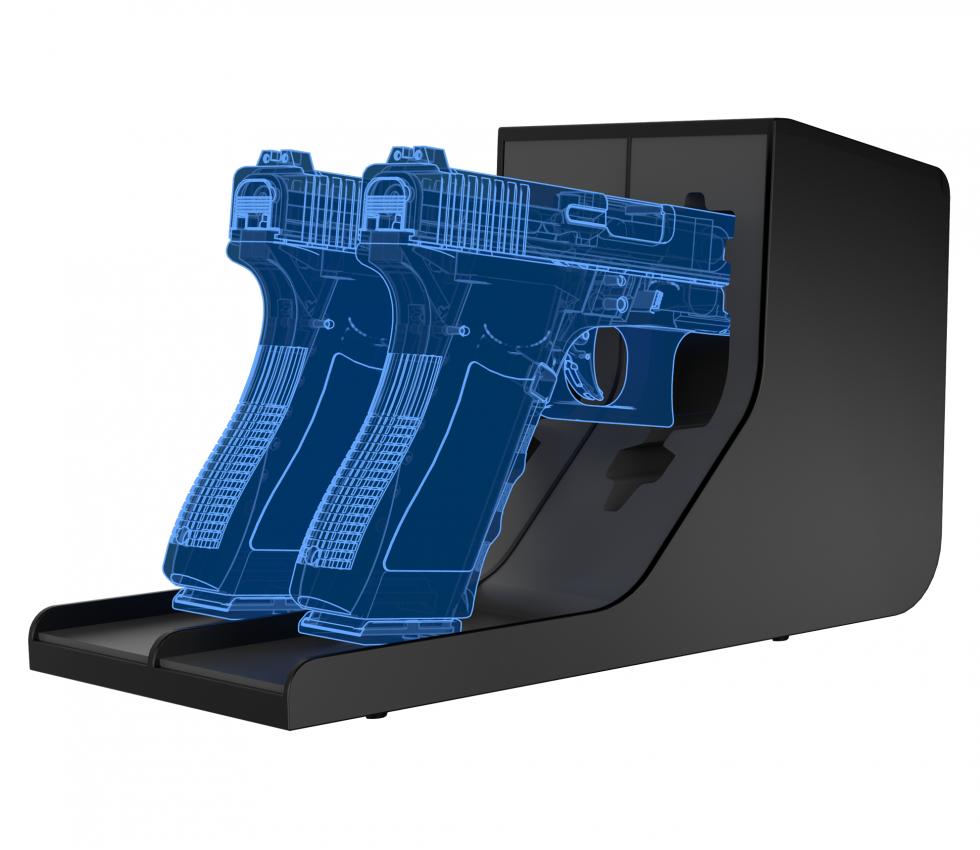 Twin Pistol Rack