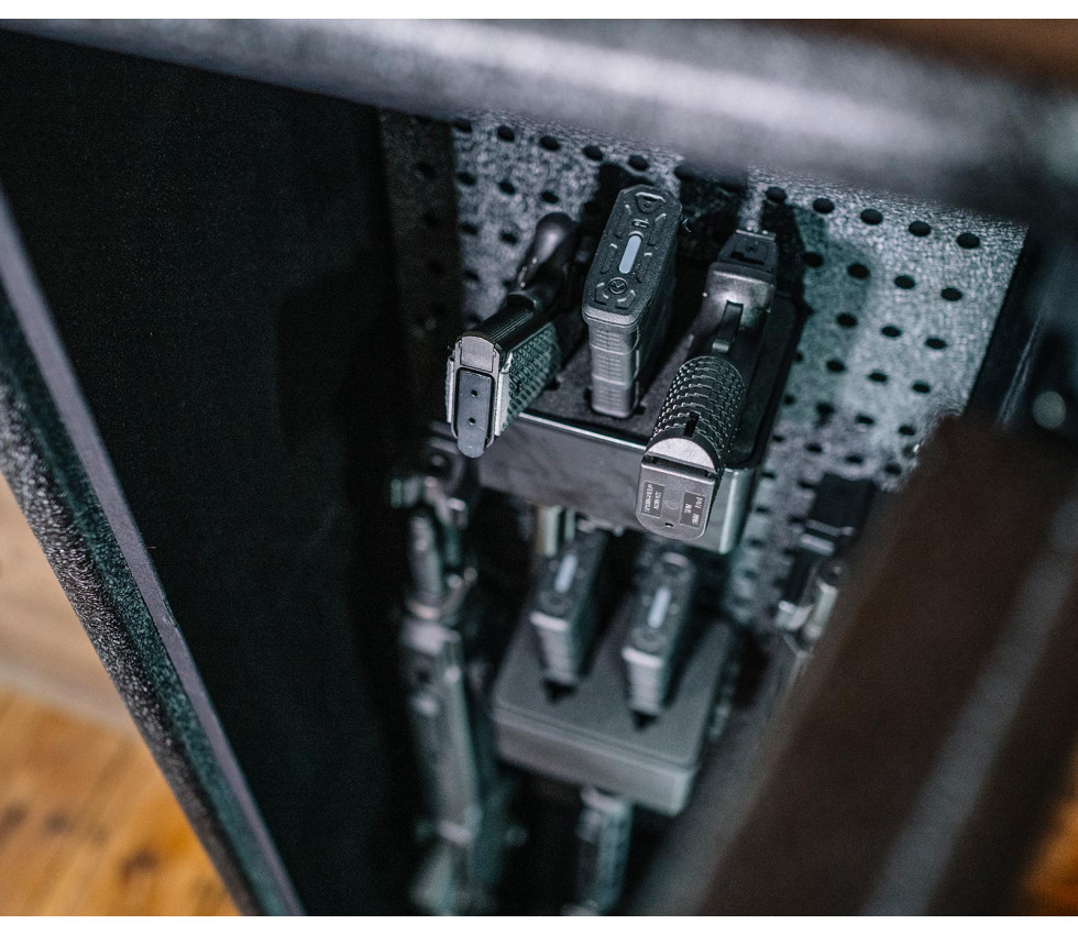 RS Series - Three Pistol/AR Magazine Rack