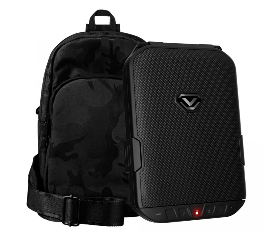 Refurbished - LifePod (Covert Black) + SlingBag (Camo) TrekPack