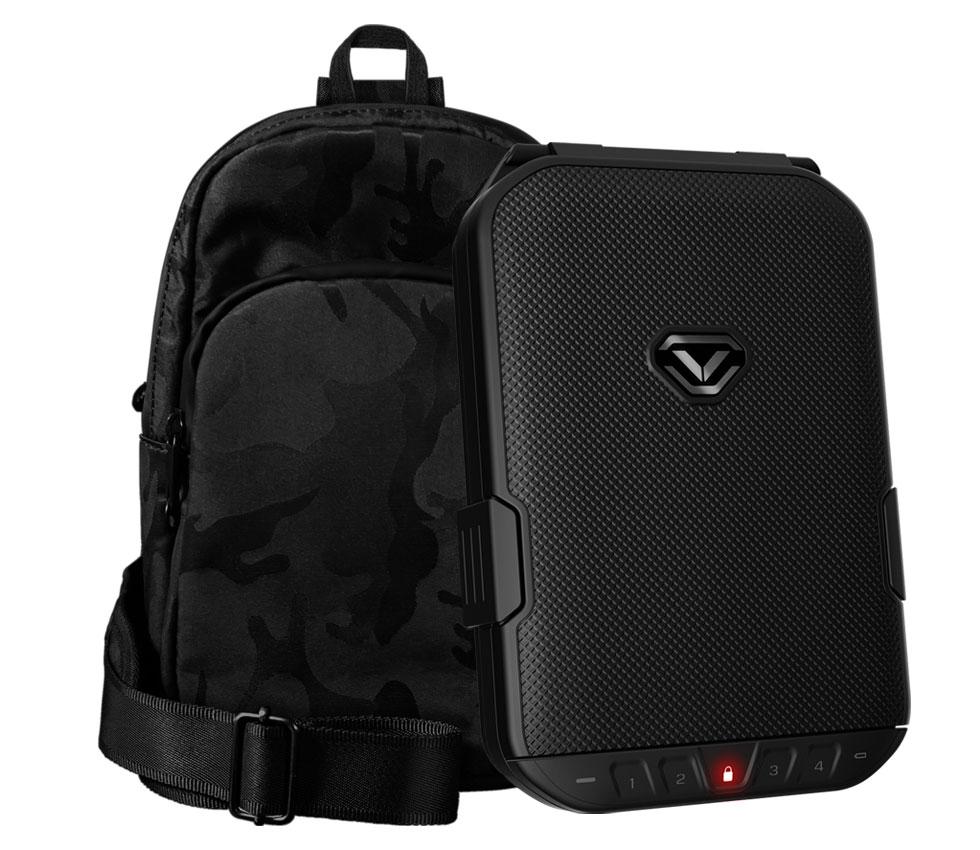 LifePod (Covert Black) + SlingBag (Camo) TrekPack