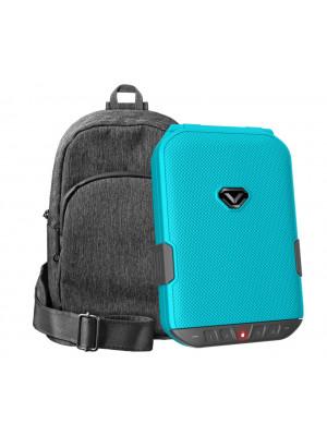 LifePod (Luxe Blue) + SlingBag (Gray) TrekPack