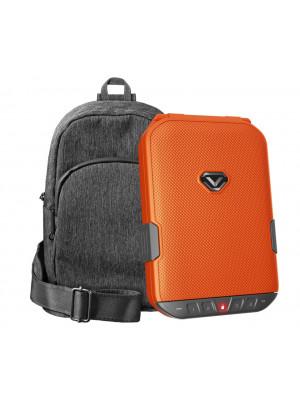 LifePod (Rush Orange) + SlingBag (Gray) TrekPack