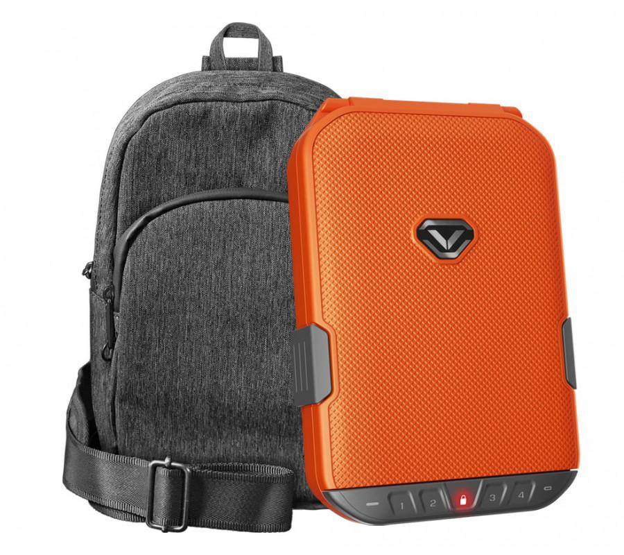 Refurbished - LifePod (Rush Orange) + SlingBag (Gray) TrekPack