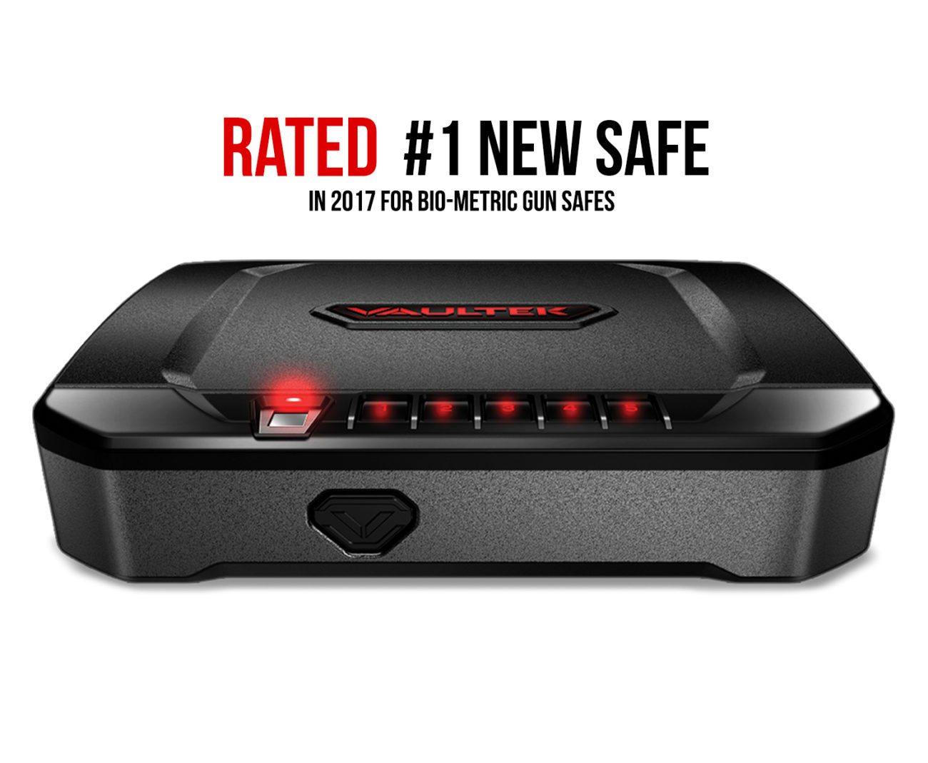 1 in 2017's Best Biometric Safes – Vaultek Safe